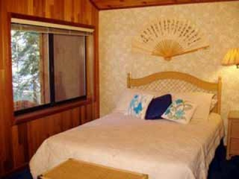 Property #2: Bedroom3 (upstairs - queen) - South Lake Tahoe Vacation Homes