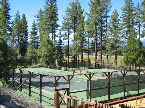 Tennis Courts - South Lake Tahoe Vacation Homes