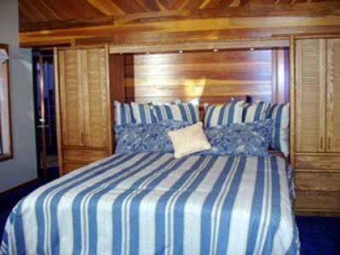 Property #2: Bedroom1 (downstairs - king) - South Lake Tahoe Vacation Homes