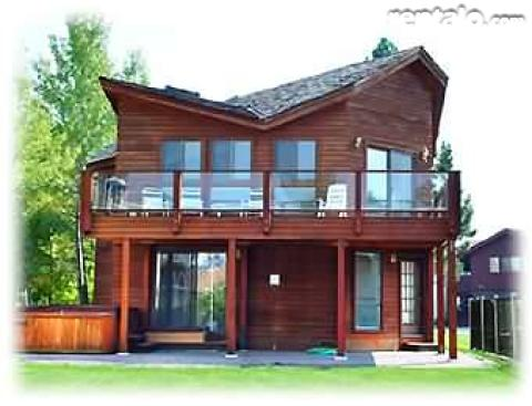Mountain Waterfront Retreat in Lake Tahoe - Vacation Rental in South Lake Tahoe