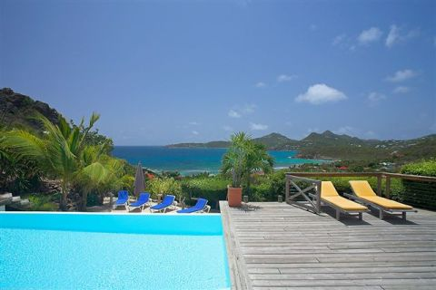 Villa Micalao, outstanding sea view - Vacation Rental in St Barthelemy