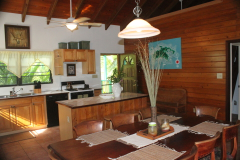 Cook up an island storm in the full kitchen - St John Vacation Homes