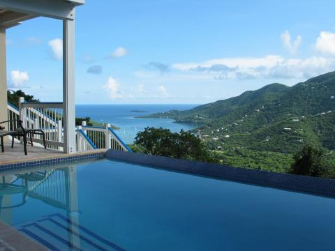 Blue Palm Villa - Vacation Rental in St John