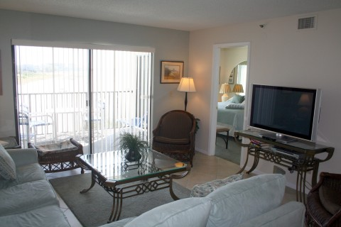 Living Area - St Pete Beach Vacation Condos