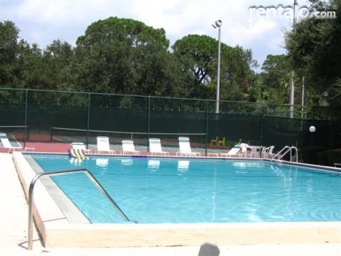 Second Pool and Tennis Courts