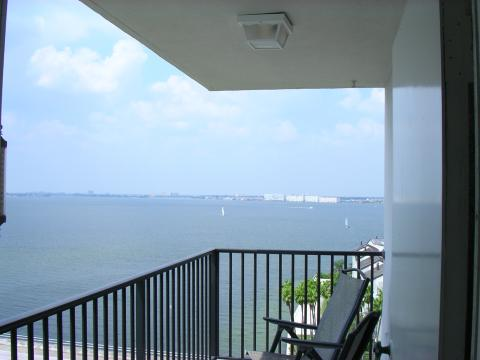Northwest view from balcony - St Petersburg Vacation Rental