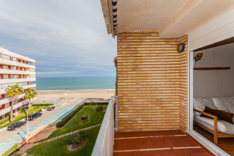 Apartment built on the front beach to Rent;  short - Vacation Rental in Sueca