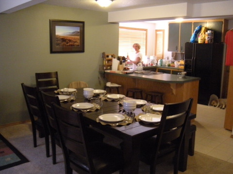 Kitchen area w/ dining table - Sunriver Vacation Homes
