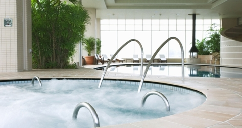 Spa jetted pools