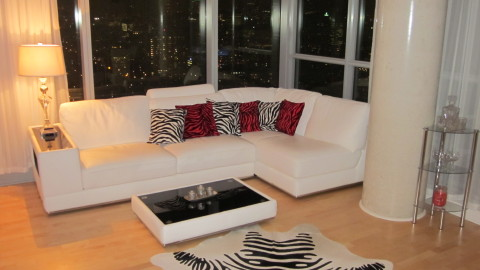 Super Luxury condo in 32nd floor , Downtown core. - Vacation Rental in Toronto