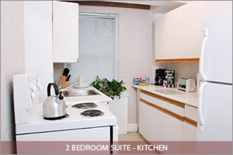 2 Bedroom Suite Kitchen - Toronto Hotels