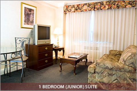 1 Bedroom ( Junior) Suite - Toronto Hotels