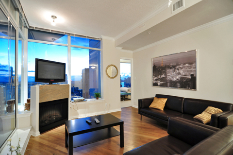 2 Bedroom Spacious Suite in Coal Harbour  - Vacation Rental in Vancouver