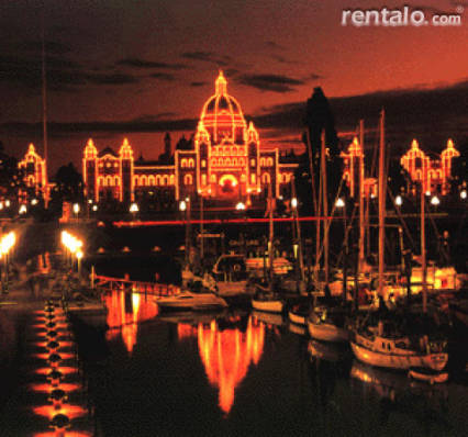 Downtown lights - Victoria Vacation Homes