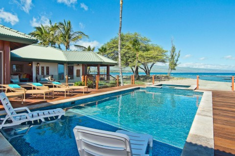 Puako four-bedroom beachfront villa - Vacation Rental in Waimea