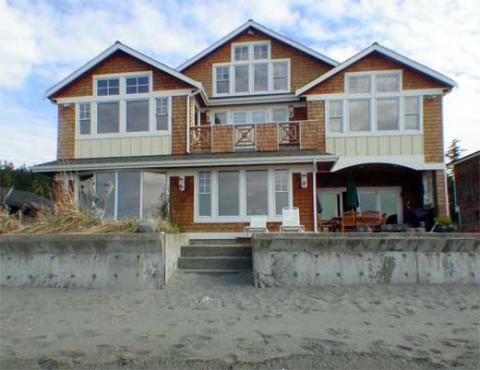 Stunning Million Dollar Beach Front Estate - Vacation Rental in Whidbey Island