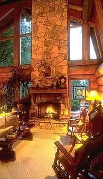 Guest House Log Cottages B&B in Greenbank, WA - Vacation Rental in Whidbey Island